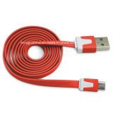 Micro USB를 위한 3ft Flat Noodle USB Charge Cable