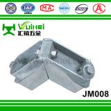 Angolo di fusione sotto pressione di alluminio per la finestra e portello con ISO9001 (JM008)