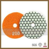 콘크리트를 위한 다이아몬드 지면 수지 닦는 패드