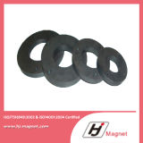 Super Powerful Customized Need N35 Ring Ferrite Permanent NdFeB / Neodymium Magnet