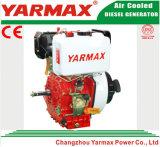 El aire del comienzo de la mano de Yarmax refrescó el motor diesel marina Ym170f del solo cilindro de 4 movimientos