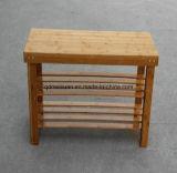 Gabinete da cremalheira da sapata da madeira contínua com alta qualidade (M-X3056)