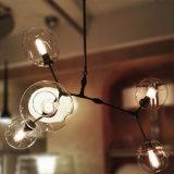 Самомоднейший канделябр шарика пузыря ветви вала Lindsey Adelman бронзовый античный алюминиевый стеклянный