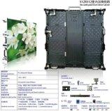 Do tamanho video interno 512X512mm da parede do diodo emissor de luz da cor cheia de P4 sistema Large-Screen da sincronização do fundo do sinal do indicador do diodo emissor de luz RGB