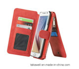 Card Slot를 가진 iPhone 5s Se Phone Wallet Leather Case를 위한 새로운 Design Mobile Leather Cover Case