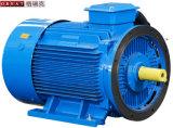 回転式ねじ空気圧縮機の電動機