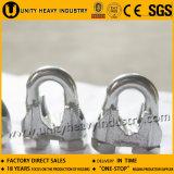 Clip de câble métallique du matériel DIN 741 de calage