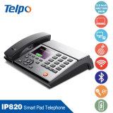 Telefone IP para uso comercial com protocolos de rede: TCP / IP, SIP, Sdp, UDP