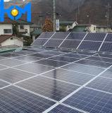 Verre modelé par arc de panneau solaire