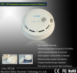 Ион/светоэлектрическая связанная проволокой дымовая пожарная сигнализация сети (SFL-128)