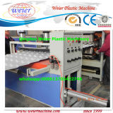 Máquina acanalada de la protuberancia de la hoja de la azotea de UPVC