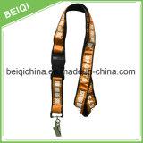 Acollador barato tejido caliente de la promoción de venta con insignia de encargo