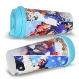 中国の卸し売り二重壁プラスチック旅行マグの昇華プラスチックコップ