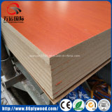 partícula de madeira Board/MDF da melamina da textura de 18mm para a mobília