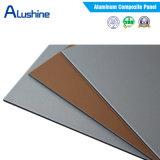 panneau composé en aluminium d'enduit de 4mm PVDF pour la décoration de mur extérieur