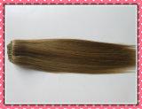 """Выдвижение 100% волос Remy наградного Weave человеческих волос качества реальное Зажим-в цвет P8/22# 8PCS /Set рояля выдвижениях 20 волос """""""