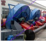 Linha de produção máquina do fertilizante orgânico do estrume do porco do estrume da vaca da pelota