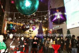 Multi gigante Colour Illuminated Inflatable Star per Event Decoration Inflatable Ball