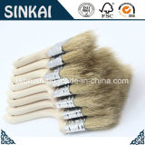 Bristle branco Chip Brushes com Wood Handle