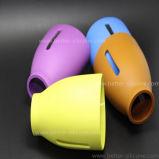 La aduana BPA libera la funda de la botella de cristal del bebé del silicón del aislante de calor