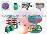 Heißer Verkaufs-Klimagummifliese-Produktionszweig/Gummifliese-formenmaschine