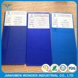 사탕 색깔 파란 투명한 파란 외투 정전기 살포 분말 코팅