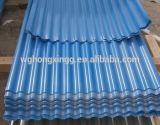 Китай гофрировал гальванизированные стальные цены листа крыши цинка