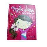 基本のための豪華なハードカバーの子供の物語の本の印刷