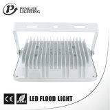 새로운 디자인 백색 반사체 100W 높은 루멘 70-80lm/W 옥수수 속 LED 플러드 빛