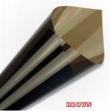 Film solaire de guichet de teinte d'extension de miroir de contrôle, film matériel de guichet de construction de l'intimité Pet/PVC
