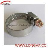 Sanitaire en acier inoxydable Pin Simple Tri bague de serrage