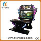 Máquina de juego video electrónica de la lucha de la cabina del combatiente de calle del empujador de la moneda 4