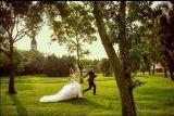 Reizvolle Backless Nixe-Trompete der neuen Form-2017, die Brautkleid Wedding ist