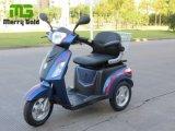 Tricycle électrique à trois roues avec panier arrière pour handicapés