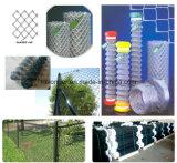 PVCによって塗られる電流を通されたチェーン・リンクの金網の塀またはダイヤモンドの金網
