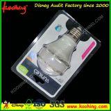 Embalaje transparente personalizado de la ampolla, embalaje blísico claro de la ampolla de la cubierta