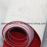 Couro sintético do PVC da chegada nova para o Upholstery do sofá