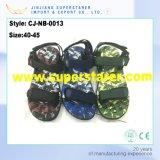Moda de camuflaje de color deporte de los hombres, sandalias Slingback