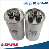 Condensador Sh del acondicionador de aire Cbb65 del motor de CA