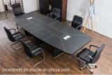 Bureau de conférence moderne et vendu avec du PVC en cuir (E29)