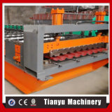La tuile de toit chinoise en métal de fournisseur laminent à froid former la machine avec la qualité
