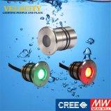 des Cer-1W anerkanntes Fernsteuerungsunterwasserim freienlicht lampe RGB-LED