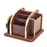 Съемный деревянный многофункциональный держатель хранения для домашней пользы с шассиим