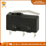 Commutateur micro terminal de soudure de levier de Lema Kw12-13 5A mini