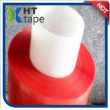 Bande rouge de polyester de côté de double de doublure de film