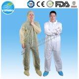 Coverall устранимого водоустойчивого костюма работы костюма скачки PP+PE работая