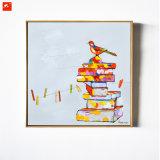 Art de style Cartoon et Peinture d'art d'oiseaux pour décoration intérieure