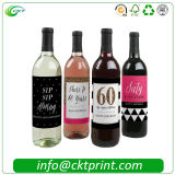 De goedkopere Etiketten die van de Sticker van de Wijn van de Douane in China afdrukken (ckt-La-413)
