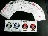 4 cartões de jogo de papel do casino de Malaysia dos palhaços