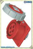 Wasserdichter IEC309-2 3p+E industrieller Stecker-Kontaktbuchse Wechselstrom 110-130V 32A Ampere